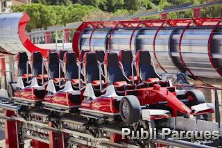 acelerador vertical Ferrari Land