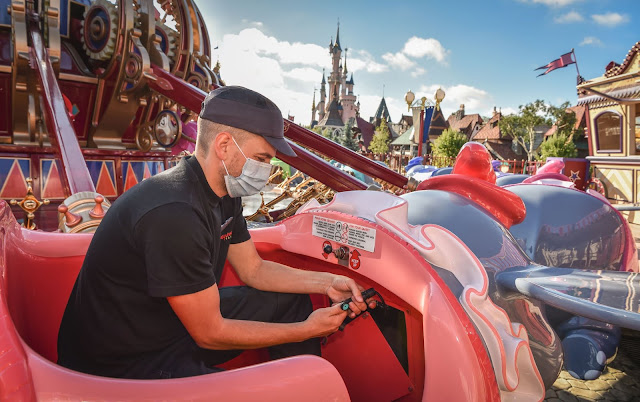 Disneyland Paris Resort Reopening information visit regulations Health and Safety Measures