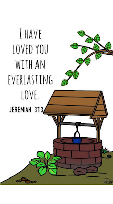 I have loved you everlasting love jeremiah