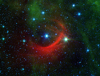 The Shocking Behavior of a Speedy Star