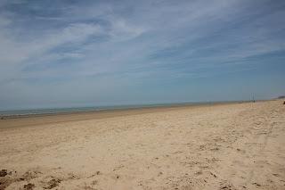 De Panne strand, Belgische kust