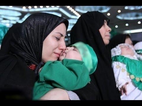 سبحان الله - طفل معجزة يتكلم مع امه وعمره أيام