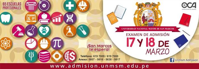 Resultados Examen de Admisión UNMSM 2018 – 2