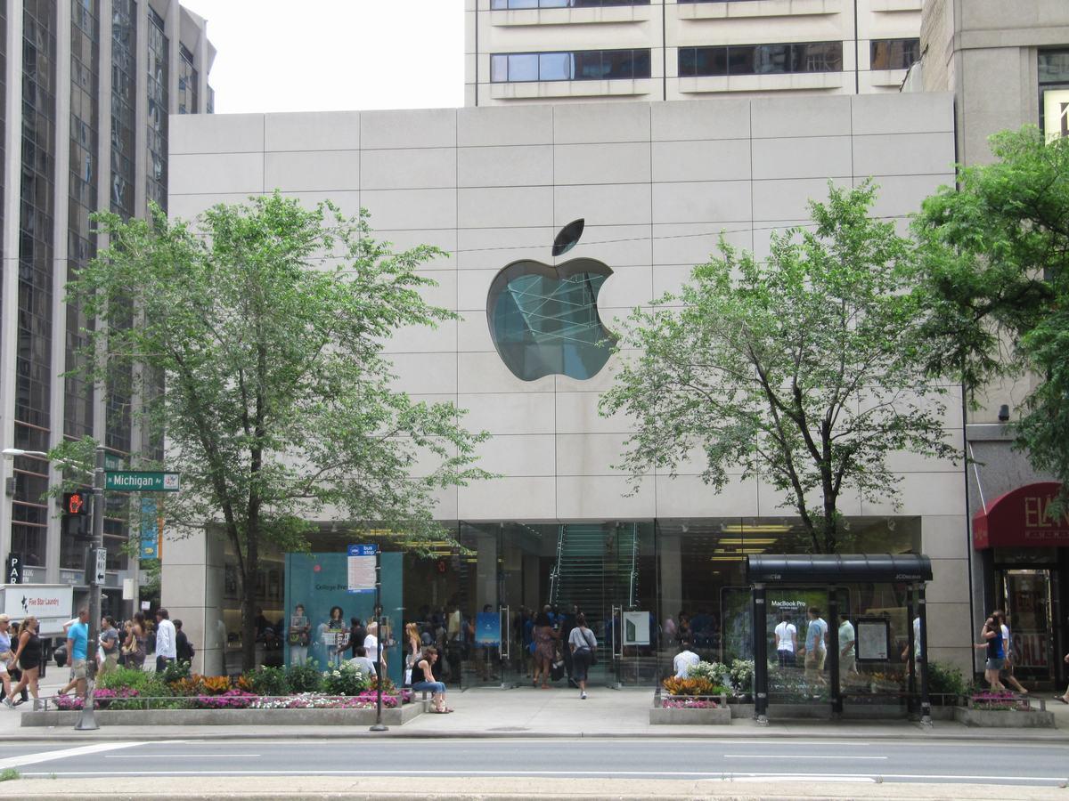 tienda Apple chicago