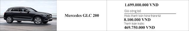 Giá xe Mercedes GLC 200 2019 nhiều khuyến mãi hấp dẫn tại đại lý Mercedes