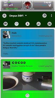 BBM KIE TWO WEH 3.0.1.25 Apk [BBM Mod Green unclone]3