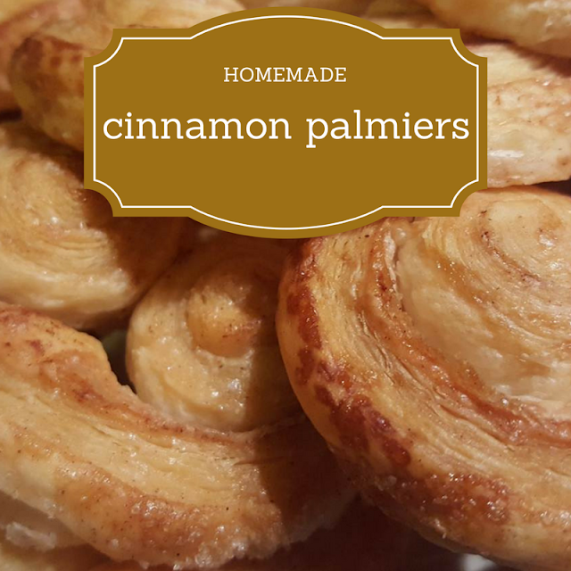 Homemade Cinnamon Palmiers