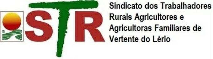 STR divulga os locais de votação pra escolha dos novos diretores do Sindicato de Vertente do Lério