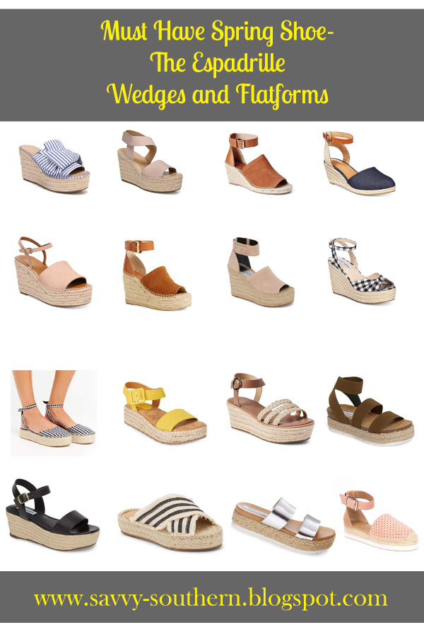 Must Have Spring shoe- Saturday Shopping