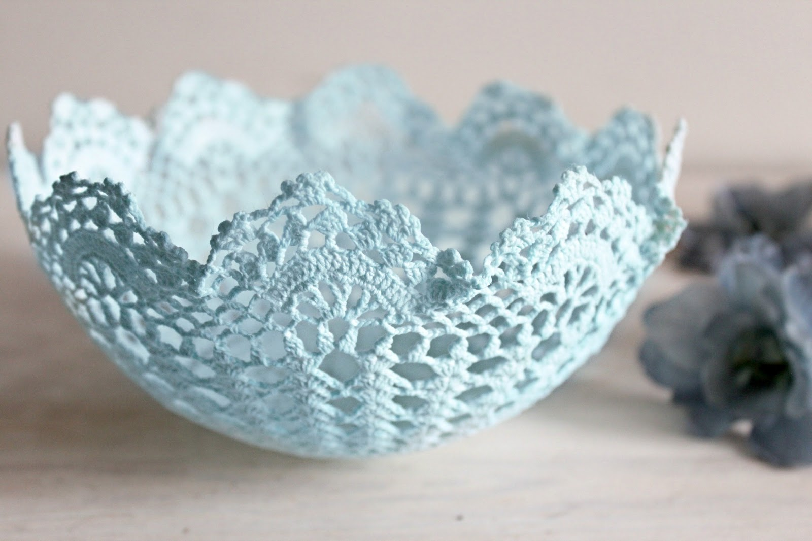 Diy Pinterest Theresa Joy 365 Days Of Pinterest Day 18 Diy Pretty Lace Bowls
