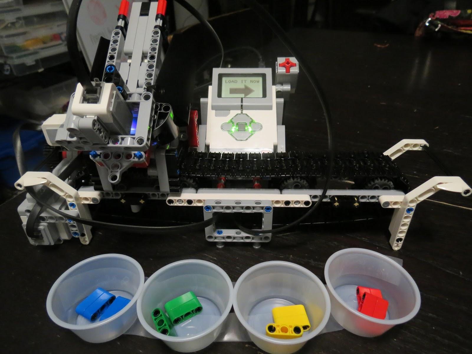 My Three Seeds of Joy Homeschool: Lego Mindstorm EV3 Color ...