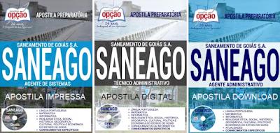 apostila para concurso SANEAGO, Agente de Sistemas 2017/2018.