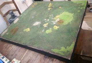 The gaming table is done