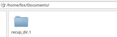 folder pada linux