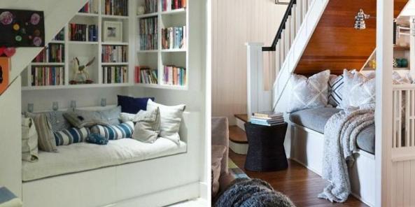 Tips dan Trik Menyulap Ruang Bawah Tangga yang Inspiratif