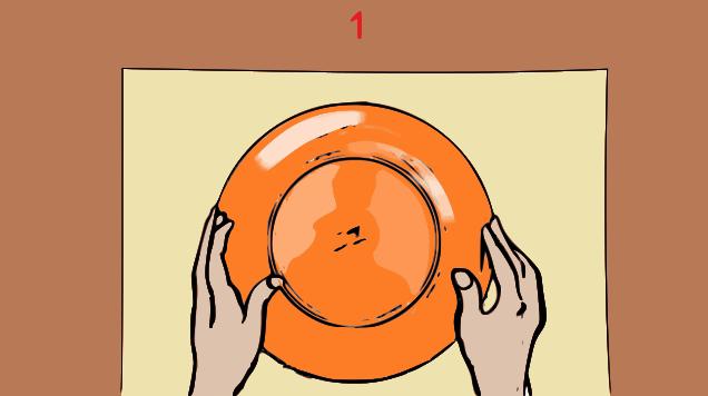 istruzioni-illustrate-sottopiatto-colla-a-caldo