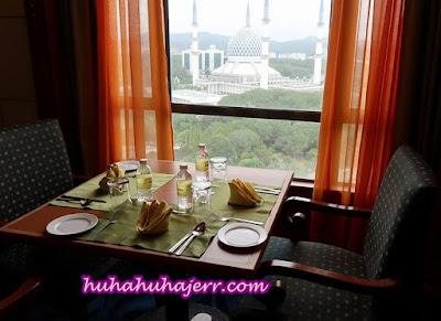 Suasana Dari Tingkat 18, Grand BlueWave Hotel Shah Alam