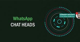 أضافة المحادثة السريعة للواتساب Whatsapp مجانا مثل الماسنجر