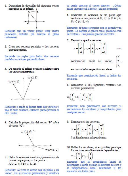 vectores perpendiculares
