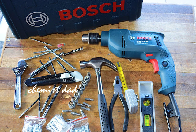 Bosch GSB 500 RE Impact Drill-DIY Tool Set, power tools, electric drill