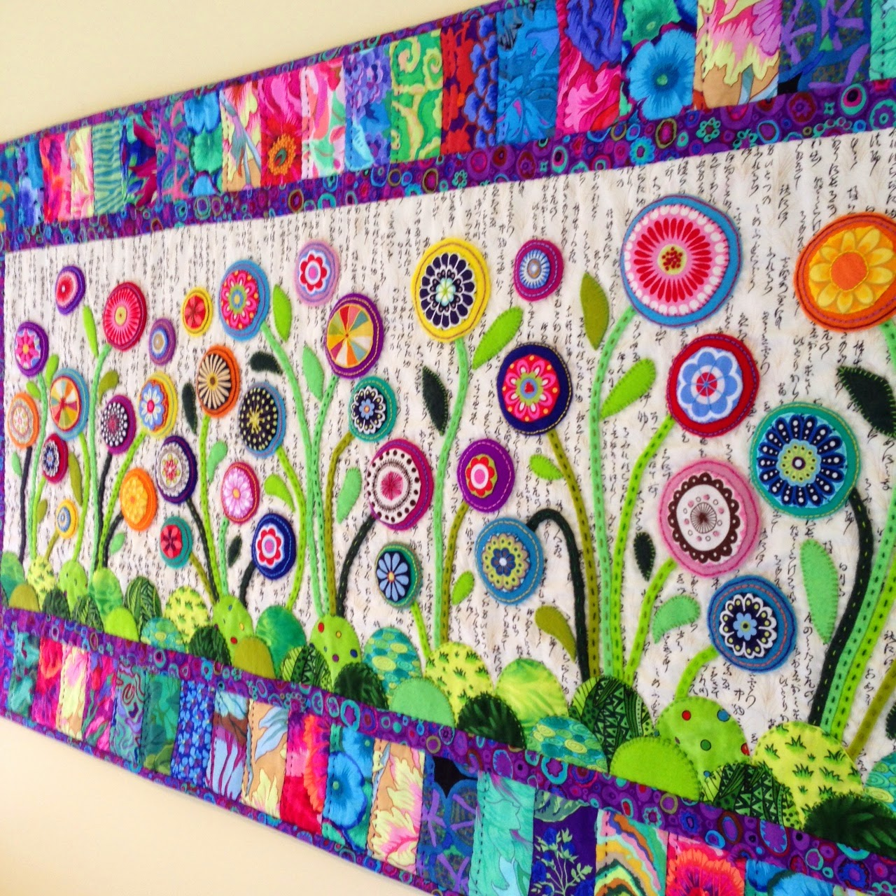 Wendy S Quilts And More Bloggers Quilt Festival Flower