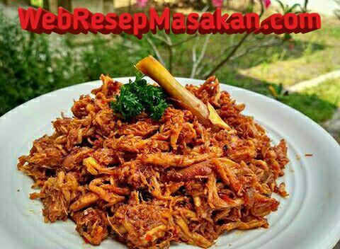 Ayam suwir pedas, Resep Ayam Suwir Pedas, Cara membuat ayam suwir pedas,