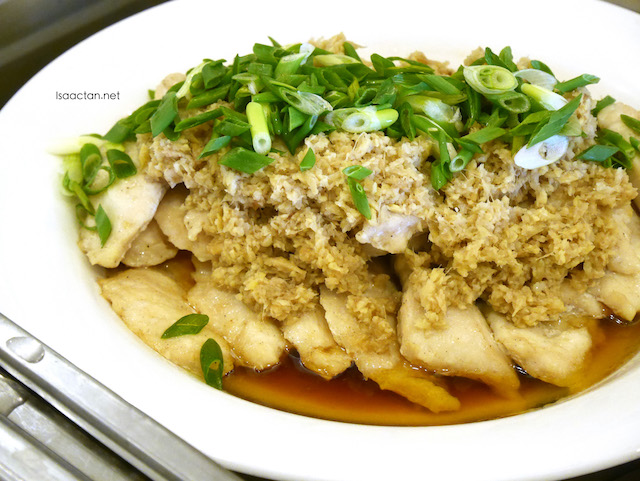 Steamed Fish Fillet with Minced Ginger
