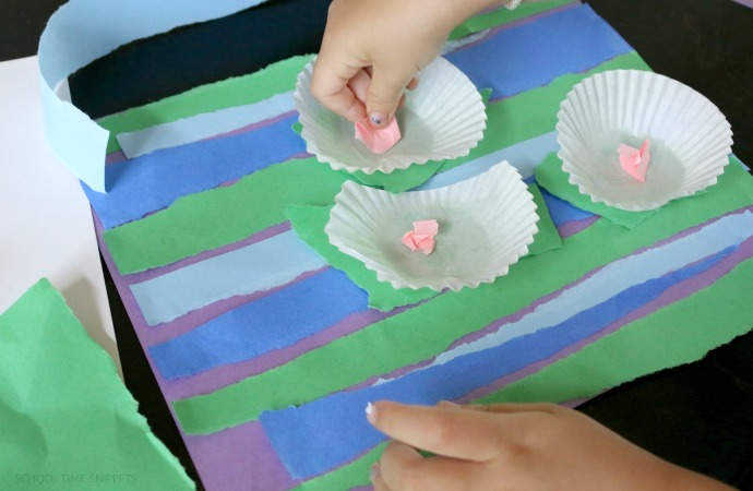 Monet Water Lily Craft Project