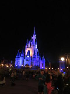 Night Cinderella Castle Magic Kingdom