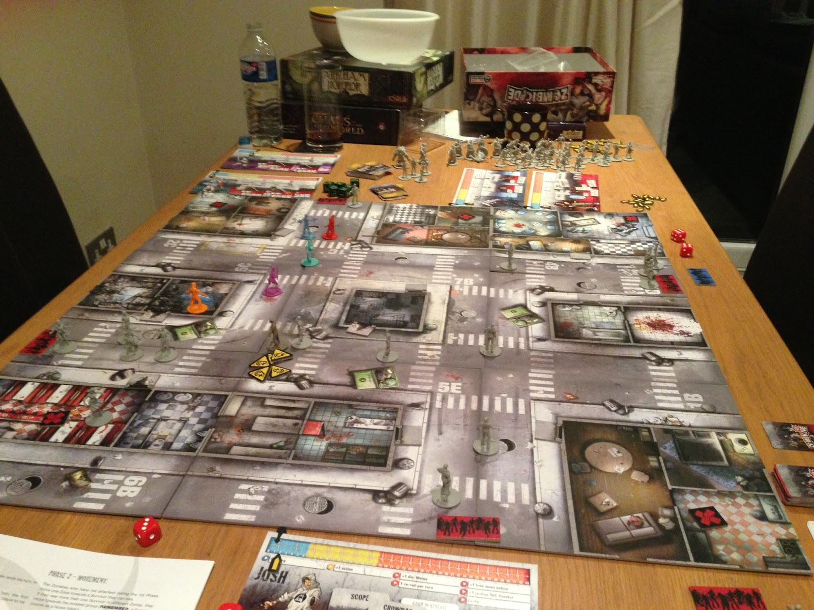 Dreaming Of Games Board Games Zombicide Season 1