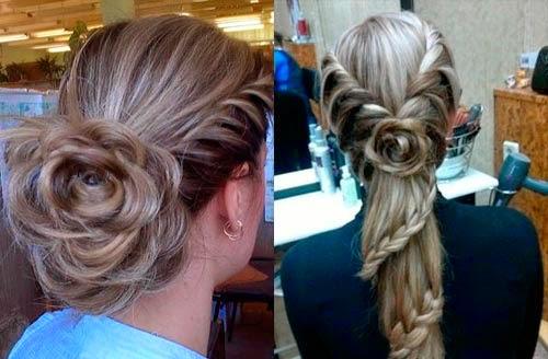 Peinados bonitos con flores paso a paso belleza y peinados - Peinados bonitos paso a paso ...