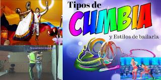 tipos de cumbias, estilos de bailar la cumbia, paises donde se baila la cumbia