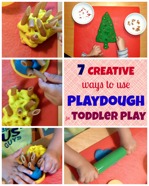 7 creative ways to use playdough