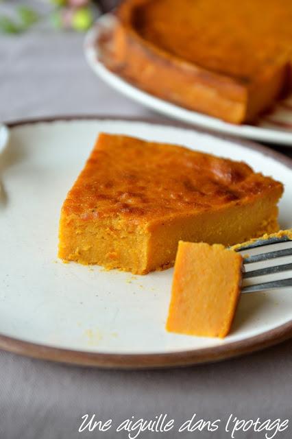 Le gâteau patate, patates douces vanille rhum