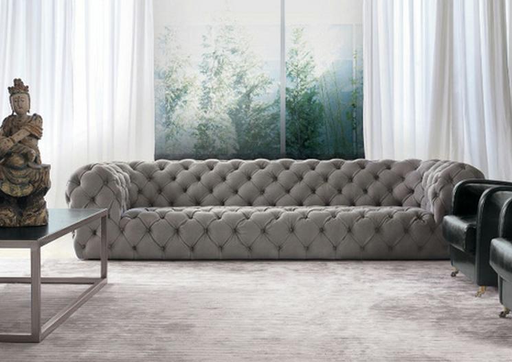 buttoned leather chair power accessories bags sofa capitone revestido em couro branco | emporio dirani