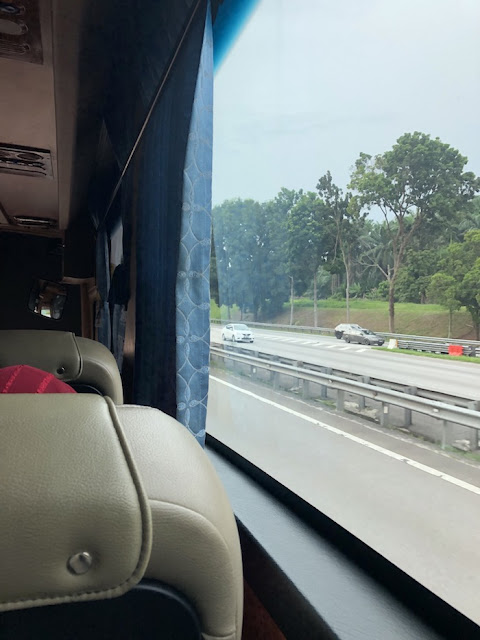 Aerobus review KLIA2 airport Paradigm Mall Petaling Jaya bus trip