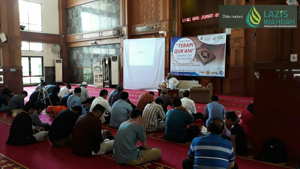 Berbagai Reaksi Peserta Saat Diterapi Qur'ani
