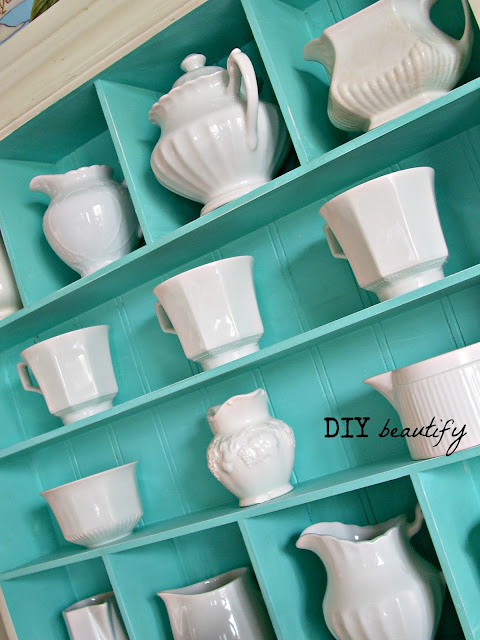 Collecting and displaying antique English ironstone | diy beautify