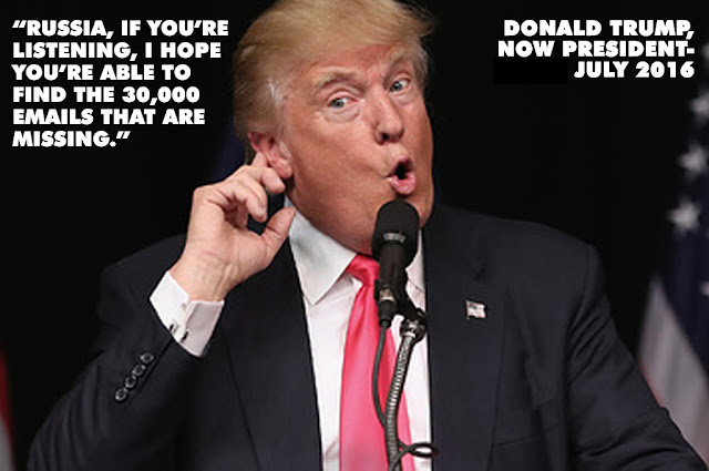 Russia, if you're listening... - Trump