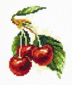 Скачать схему вышивки вишня