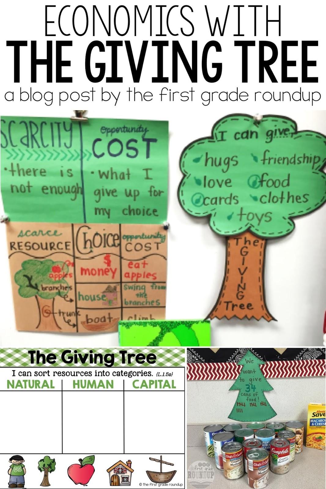 medium resolution of The Giving Tree - Firstgraderoundup