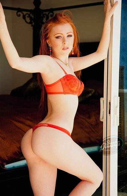 Redhead ass