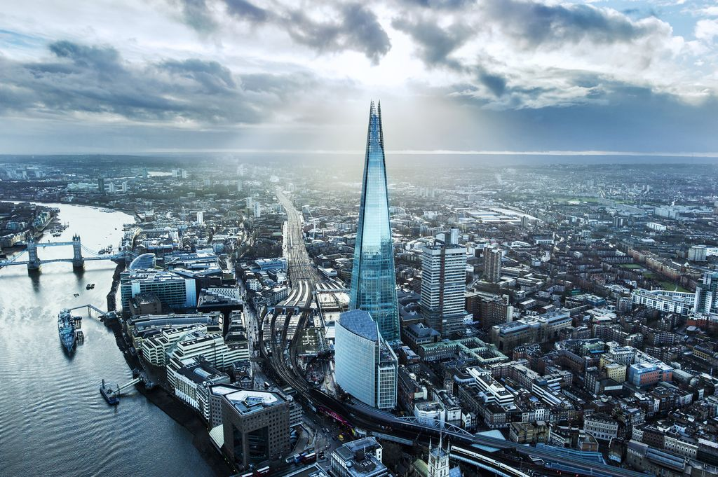 professional picture of the shard