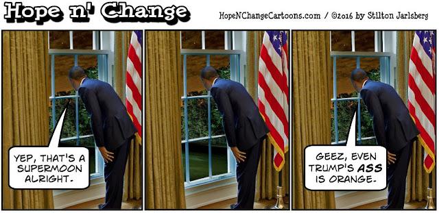 obama, obama jokes, political, humor, cartoon, conservative, hope n' change, hope and change, stilton jarlsberg, trump, supermoon, Greece