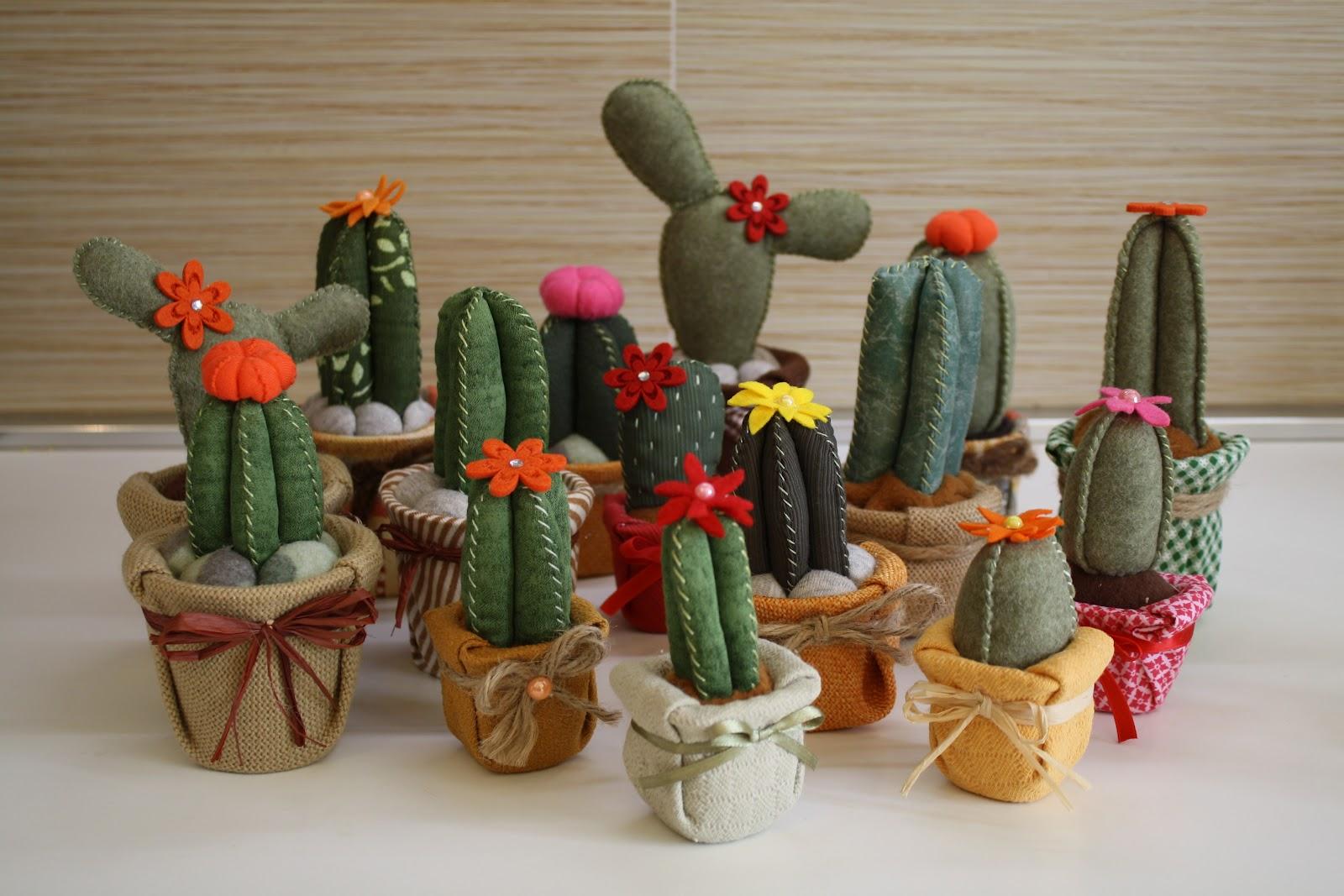 Carolicrea cactus di stoffa il mio tutorial for Creare con il fai da te