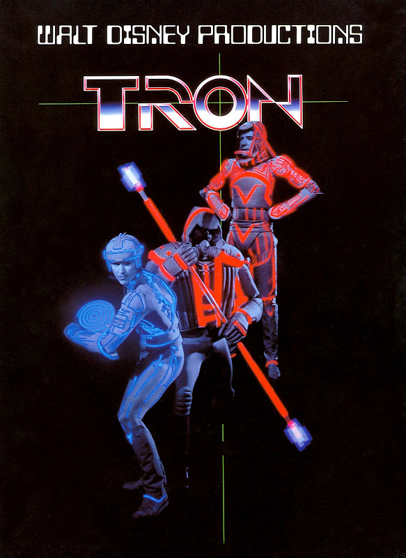 Tron 1982 movie poster