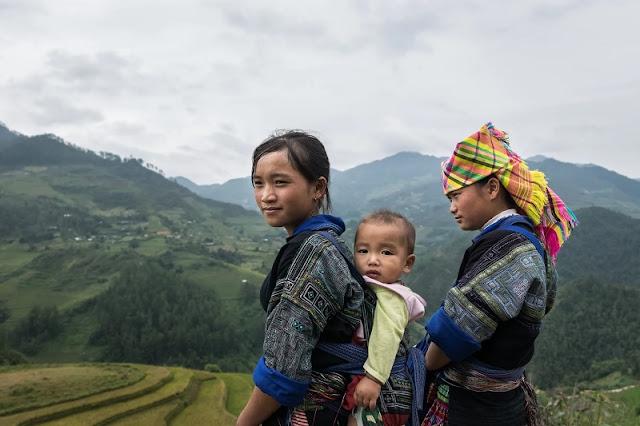 Simplicity of the ethnic minority in Sapa 1