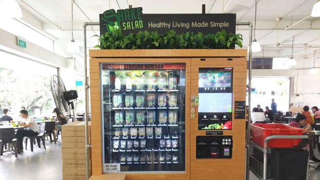 Vending Machine Unik Yang Hanya Ada Di Singapura