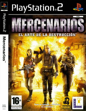 Mercenaries%2BThe%2BArt%2Bof%2BDestruction - Mercenaries The Art of Destruction | Ps2