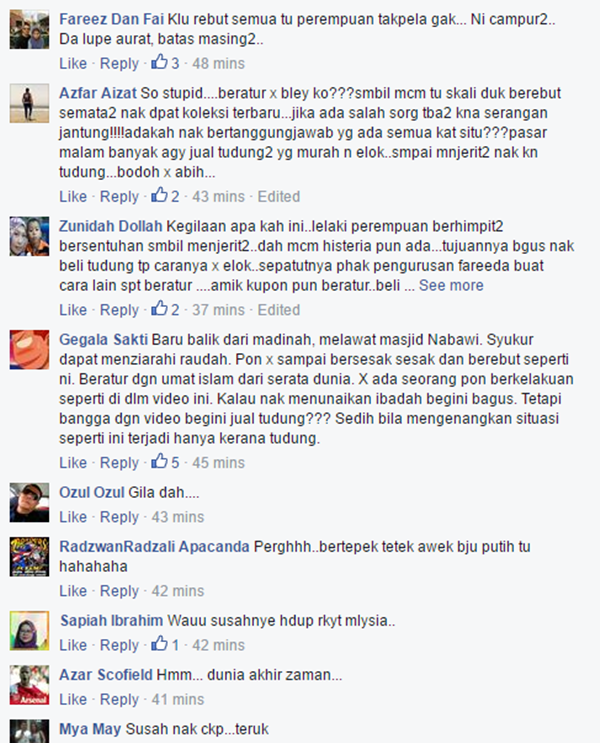 (Video) Gelagat Peminat Tudung Fareeda Dikecam Oleh Netizen Disebabkan Oleh...MENGEJUTKAN!